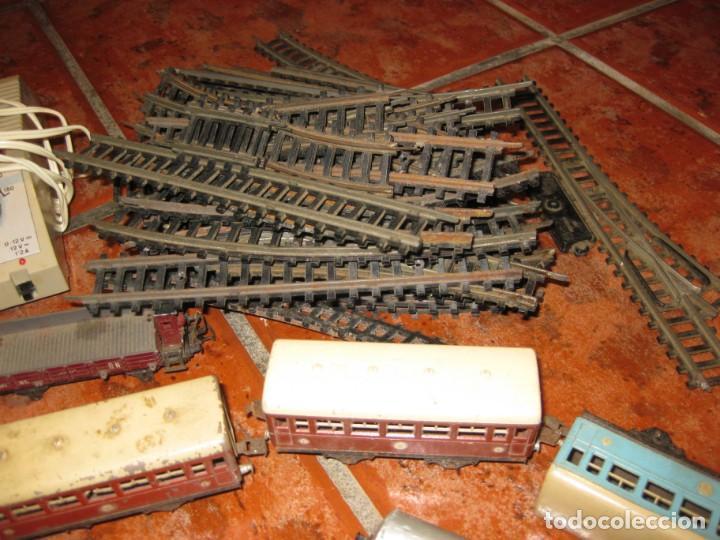 Trenes Escala: gran lote trenes tren 2 locomotora vagones tramos via piezas , paya jyesa ibi - Foto 4 - 170106850