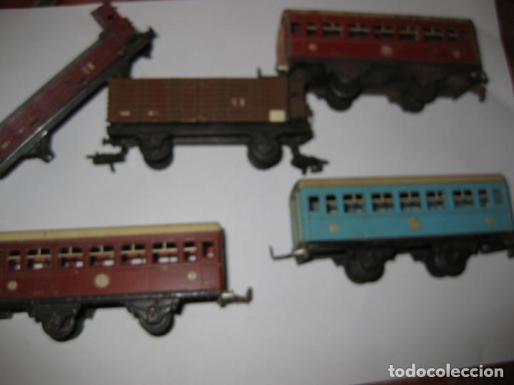 Trenes Escala: gran lote trenes tren 2 locomotora vagones tramos via piezas , paya jyesa ibi - Foto 20 - 170106850