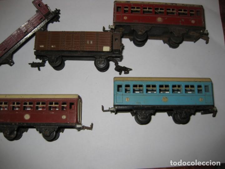 Trenes Escala: gran lote trenes tren 2 locomotora vagones tramos via piezas , paya jyesa ibi - Foto 21 - 170106850