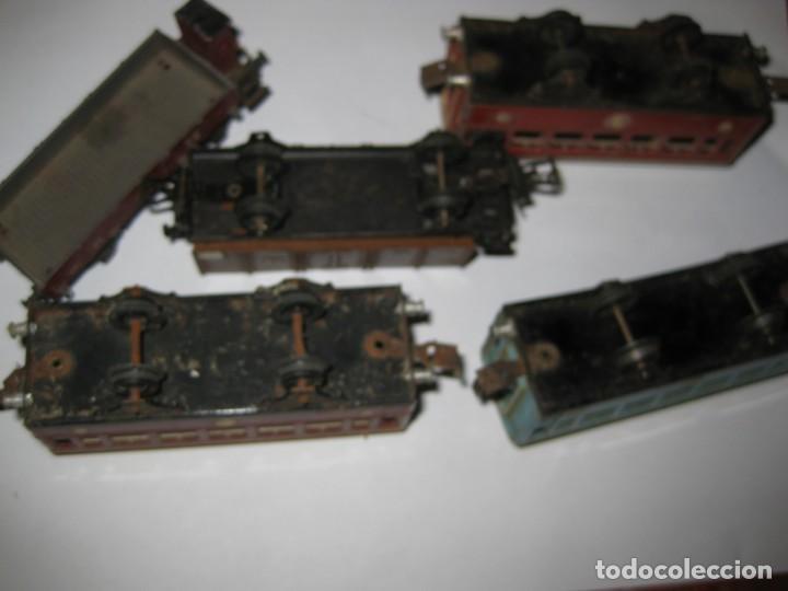 Trenes Escala: gran lote trenes tren 2 locomotora vagones tramos via piezas , paya jyesa ibi - Foto 22 - 170106850