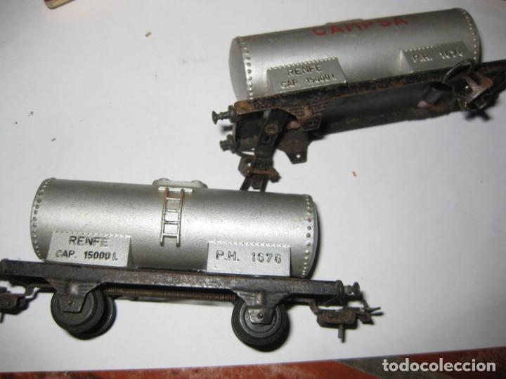Trenes Escala: gran lote trenes tren 2 locomotora vagones tramos via piezas , paya jyesa ibi - Foto 23 - 170106850