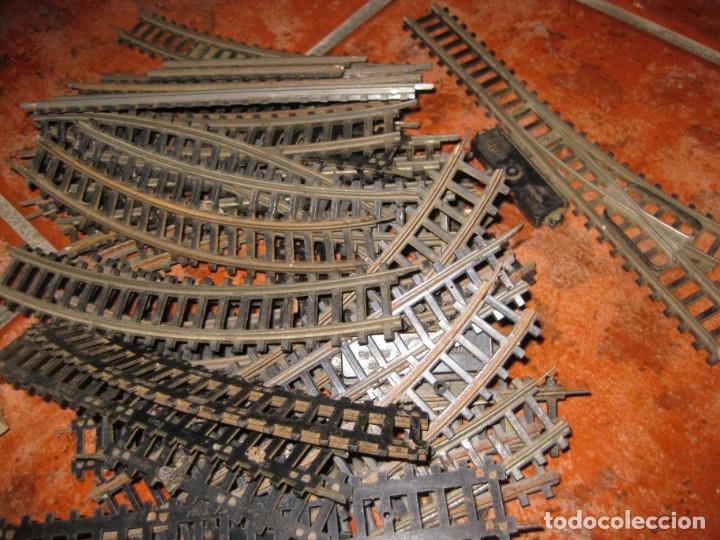 Trenes Escala: gran lote trenes tren 2 locomotora vagones tramos via piezas , paya jyesa ibi - Foto 25 - 170106850