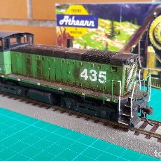 Trenes Escala: LOCOMOTORA ATHEARN SW 10 BURLINGTON NORTHERN #435 ESCALA H0 (SIN MOTOR). Lote 141578666