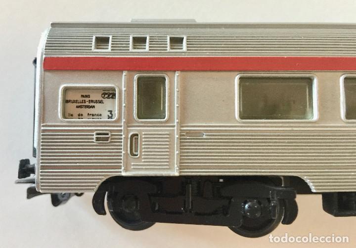Trenes Escala: JOUEF COCHE DE PASAJEROS A8 TEE PBA INOX - ESCALA HO - (REF. 864) VINTAGE 1965 - Foto 2 - 171368620