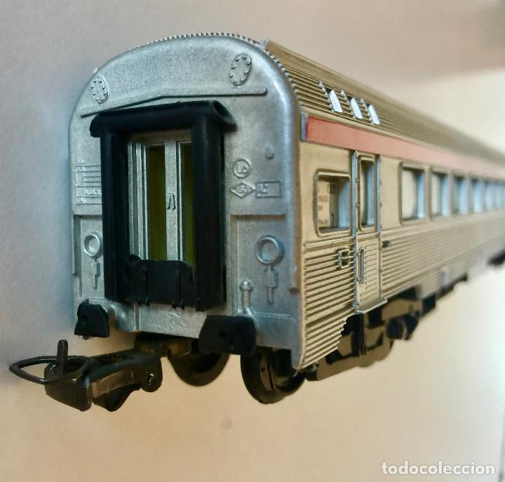 Trenes Escala: JOUEF COCHE DE PASAJEROS A8 TEE PBA INOX - ESCALA HO - (REF. 864) VINTAGE 1965 - Foto 3 - 171368620