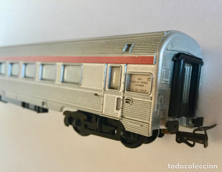 Trenes Escala: JOUEF COCHE DE PASAJEROS A8 TEE PBA INOX - ESCALA HO - (REF. 864) VINTAGE 1965 - Foto 4 - 171368620