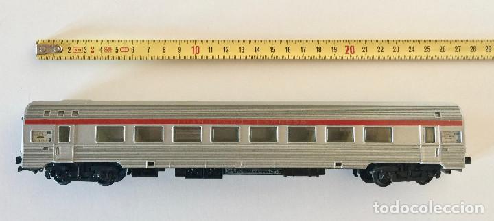 Trenes Escala: JOUEF COCHE DE PASAJEROS A8 TEE PBA INOX - ESCALA HO - (REF. 864) VINTAGE 1965 - Foto 8 - 171368620