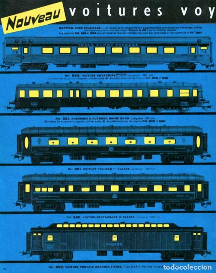 Trenes Escala: JOUEF COCHE DE PASAJEROS A8 TEE PBA INOX - ESCALA HO - (REF. 864) VINTAGE 1965 - Foto 10 - 171368620