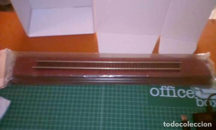 Trenes Escala: Peana de Madera Rectangular Caoba 1 un. (45mm X 300mm). - Foto 2 - 171502034
