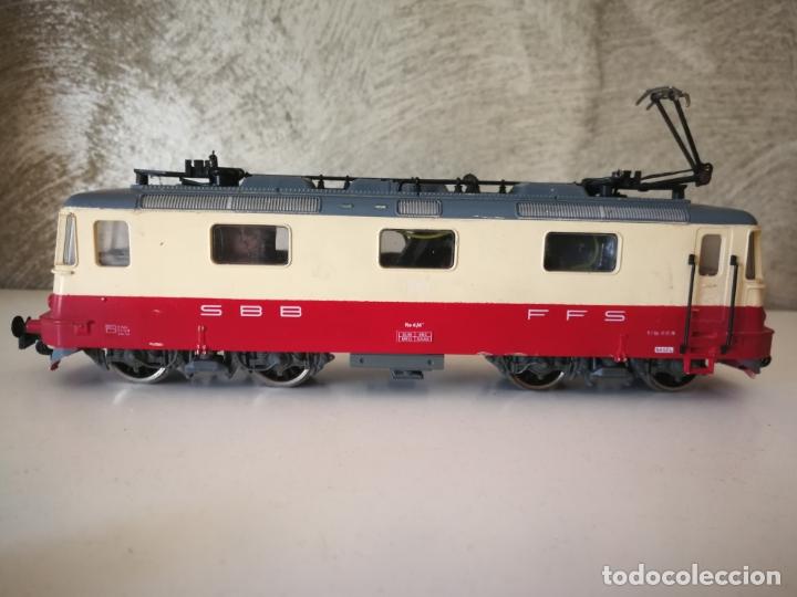 Trenes Escala: LOCOMOTORA JOUEF SBB CFF ESCALA H0 - Foto 3 - 171788502