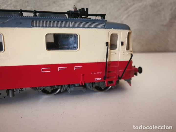Trenes Escala: LOCOMOTORA JOUEF SBB CFF ESCALA H0 - Foto 5 - 171788502