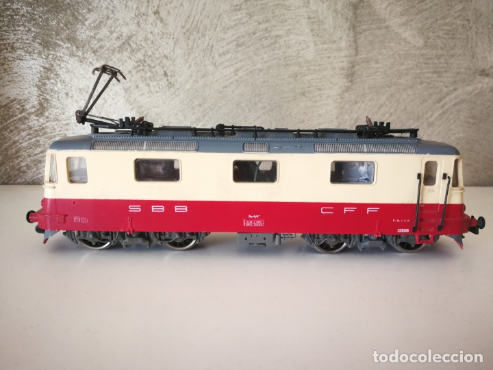LOCOMOTORA JOUEF SBB CFF ESCALA H0 (Juguetes - Trenes Escala H0 - Otros Trenes Escala H0)