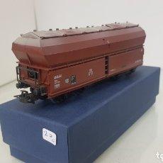 Trenes Escala: TOLVA (NO RENFE ) DE LA DB ALEMÁN ESCALA H0 CORRIENTE CONTINUA DESCONOZCO MARCA 13 CENTÍMETROS. Lote 172224840