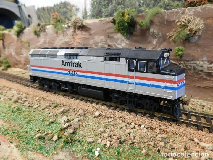 LOCOMOTORA KATO AMTRAK F40PH DIGITAL DCC & SONIDO LOKSOUND ESCALA H0 (Juguetes - Trenes Escala H0 - Otros Trenes Escala H0)
