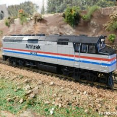 Trenes Escala: LOCOMOTORA KATO AMTRAK F40PH DIGITAL DCC & SONIDO LOKSOUND ESCALA H0. Lote 172782919