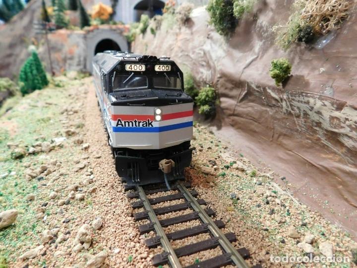 Trenes Escala: Locomotora Kato Amtrak F40PH Digital DCC & Sonido Loksound Escala H0 - Foto 2 - 172782919