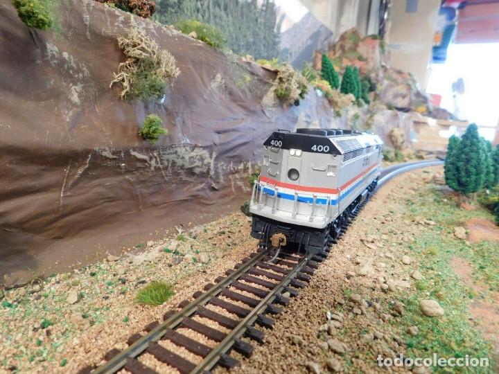 Trenes Escala: Locomotora Kato Amtrak F40PH Digital DCC & Sonido Loksound Escala H0 - Foto 3 - 172782919