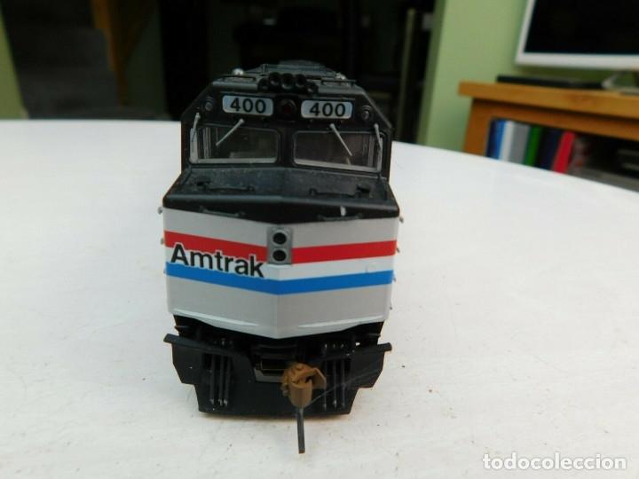 Trenes Escala: Locomotora Kato Amtrak F40PH Digital DCC & Sonido Loksound Escala H0 - Foto 4 - 172782919
