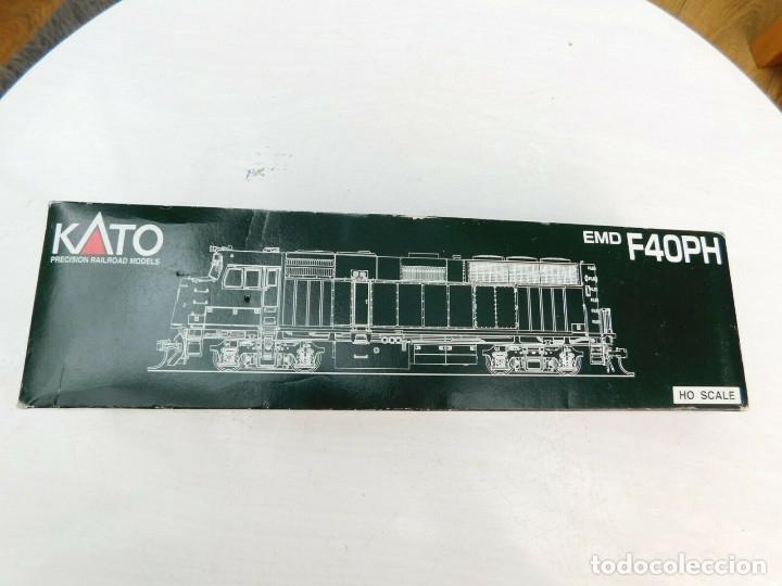 Trenes Escala: Locomotora Kato Amtrak F40PH Digital DCC & Sonido Loksound Escala H0 - Foto 10 - 172782919