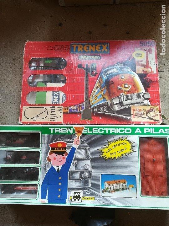 TRENES ELECTRICOS A PILAS (Juguetes - Trenes - Varios)