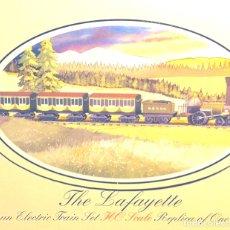Trenes Escala: TREN COMPLETO HISTÓRICO BACHMANN H0 LAFAYETTE. Lote 173897439