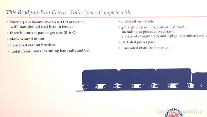 Trenes Escala: Tren completo histórico Bachmann H0 Lafayette - Foto 7 - 173897439