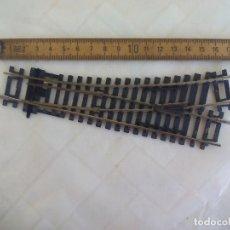 Trenes Escala: HORNBY R8072, DESVIO MANUAL DE VIA EN CURVA A LA IZQUIERDA, PARA TRENES ESCALA H0. RAILWAYS.. Lote 173941302