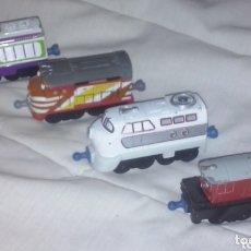 Trenes Escala: LUDORUM TOMY 2010 & 2013 ~ LOTE 4 LOCOMOTORA TREN DE SERIE TELEVISIÓN DIDÁCTICA CHUGGINGTON. Lote 174167753