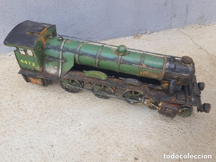 Trenes Escala: ANTIGUA LOCOMOTORA DE METAL - Foto 2 - 174270537