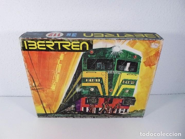 TREN ELECTRICO. IBERTREN, ESCALA 3N, MODELO 112. (Juguetes - Trenes - Varios)