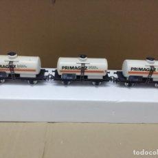 Trenes Escala: LOTE 3 VAGONES CISTERNA H0. Lote 174894192