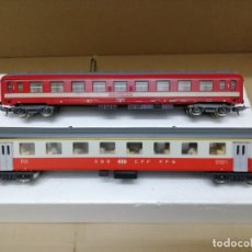 Trenes Escala: LOTE 2 VAGONES PASAJEROS H0. Lote 174931538