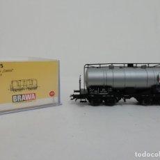 Trenes Escala: BRAWA H0 47075 VAGÓN CISTERNA KESSELWAGEN CASTROL NUEVO NEW OVP. Lote 175020957