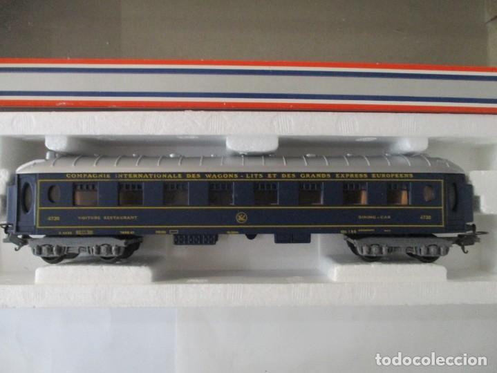 JOUEF VAGON COCHE CAMA - TRANS EURO NUIT - REF 5784 - ESCALA HO - CON CAJA (Juguetes - Trenes Escala H0 - Otros Trenes Escala H0)