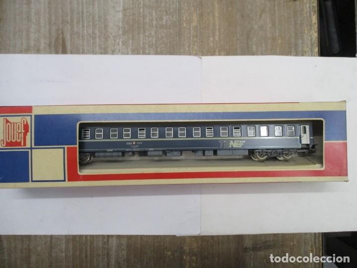 Trenes Escala: JOUEF VAGON COCHE CAMA - TRANS EURO NUIT - REF 5784 - ESCALA HO - CON CAJA - Foto 2 - 175183888