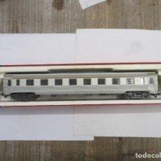 Trenes Escala: JOUEF VAGON ACERO COCHE VIAJEROS 1ª CLASE A8 - REF 5580 - ESCALA HO - CON CAJA. Lote 175184768