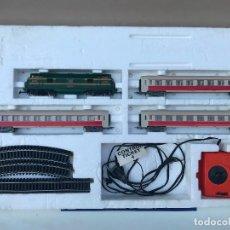 Trenes Escala: TREN ELECTRICO JOUEF HDI - RENFE 4002 - TREN - ESCALA H0 ,MADE IN IRELAND. Lote 175300375