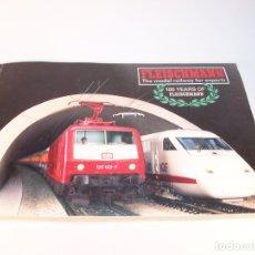 Trenes Escala: CATÁLOGO DE TRENES. FLEISCHMANN. THE MODEL RAILWAY FOR EXPERT. 1987/88. INGLÉS.. Lote 175821680