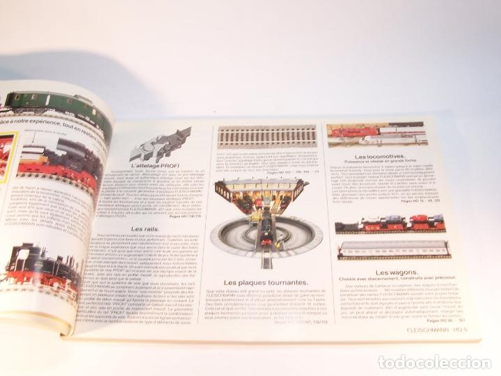 Trenes Escala: Catálogo de trenes. Fleischmann. Le train-modele des professionnels. 1989/90. Francés. - Foto 2 - 175822048