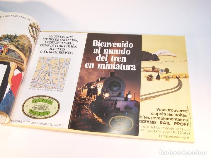 Trenes Escala: Catálogo de trenes. Fleischmann. Le train-modele des professionnels. 1989/90. Francés. - Foto 3 - 175822048