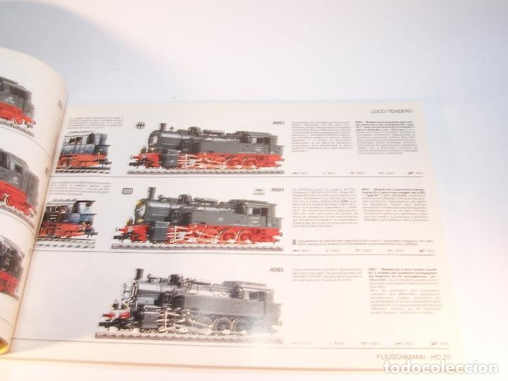 Trenes Escala: Catálogo de trenes. Fleischmann. Le train-modele des professionnels. 1989/90. Francés. - Foto 4 - 175822048