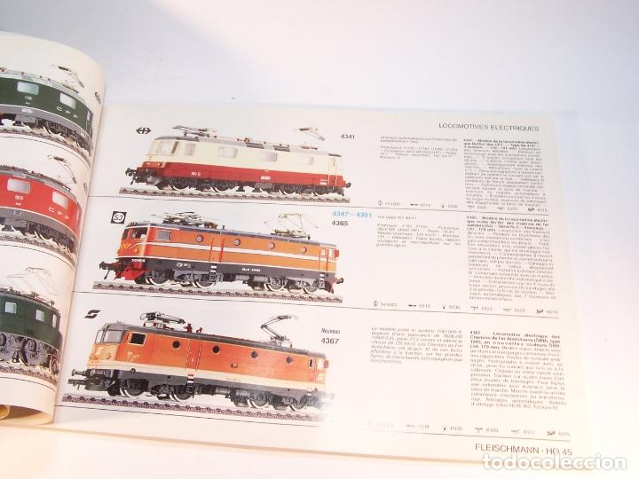 Trenes Escala: Catálogo de trenes. Fleischmann. Le train-modele des professionnels. 1989/90. Francés. - Foto 5 - 175822048