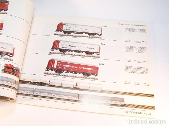 Trenes Escala: Catálogo de trenes. Fleischmann. Le train-modele des professionnels. 1989/90. Francés. - Foto 6 - 175822048