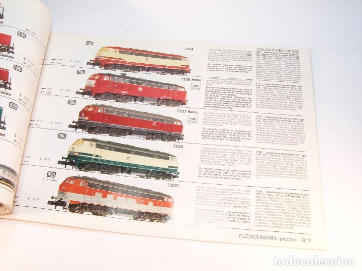 Trenes Escala: Catálogo de trenes. Fleischmann. Le train-modele des professionnels. 1989/90. Francés. - Foto 7 - 175822048