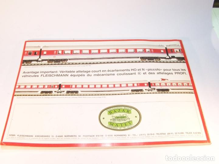 Trenes Escala: Catálogo de trenes. Fleischmann. Le train-modele des professionnels. 1989/90. Francés. - Foto 8 - 175822048