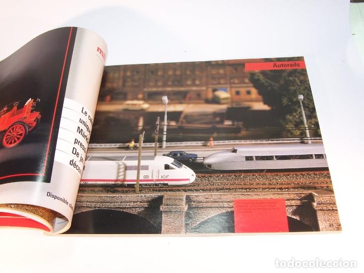 Trenes Escala: Catálogo de trenes. Märklín. H0. 1988. Francés. 160 pp. - Foto 3 - 175824487
