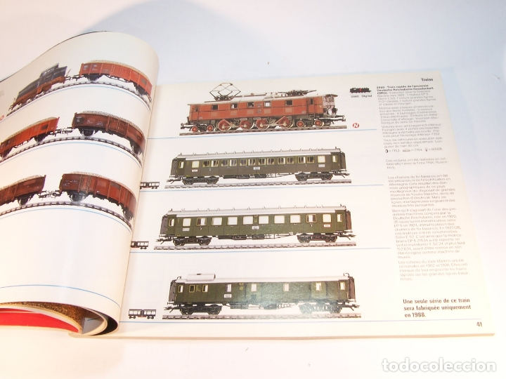 Trenes Escala: Catálogo de trenes. Märklín. H0. 1988. Francés. 160 pp. - Foto 4 - 175824487