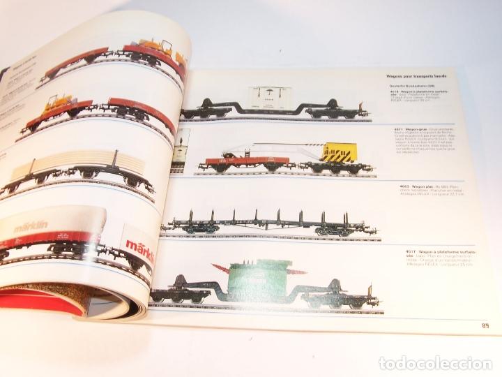 Trenes Escala: Catálogo de trenes. Märklín. H0. 1988. Francés. 160 pp. - Foto 5 - 175824487