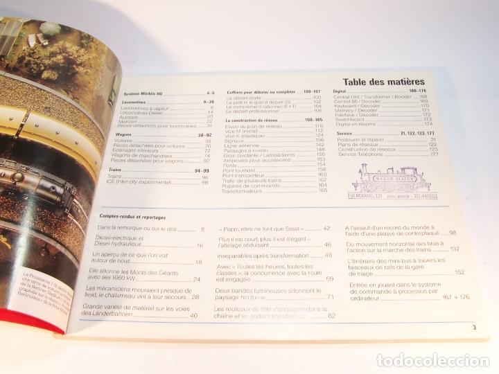 Trenes Escala: Catálogo de trenes. Märklín. H0. 1987/88 F. Francés. 176 pp. - Foto 2 - 175824698