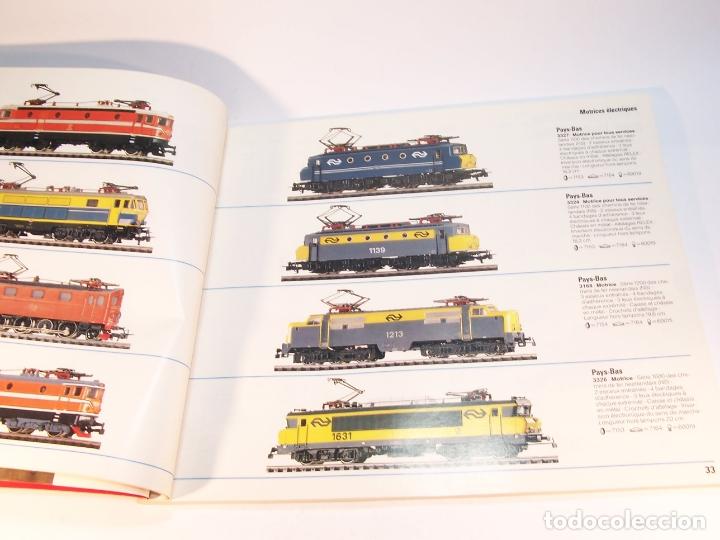 Trenes Escala: Catálogo de trenes. Märklín. H0. 1987/88 F. Francés. 176 pp. - Foto 3 - 175824698